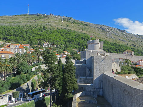 Fort Minceta in Dubrovnik Croatia